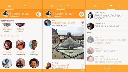 Swarm, la aplicación de Foursquare para hacer check-in, ya disponible para Windows Phone 8.1