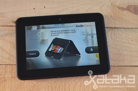 Análisis del Kindle Fire HD