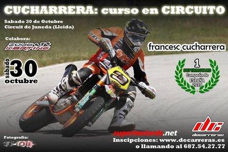 Curso de supermotard con Fracesc Cucharrera en el Circuito de Juneda