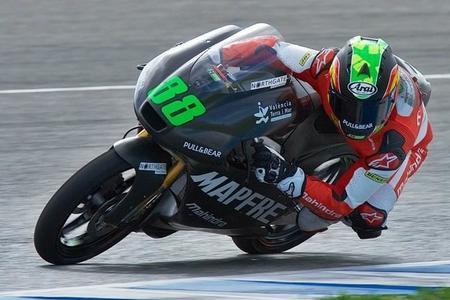 Jorge Martin Test Jerez Moto3 2015