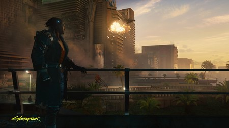 Cyberpunk2077 Admiring The View Rgb En