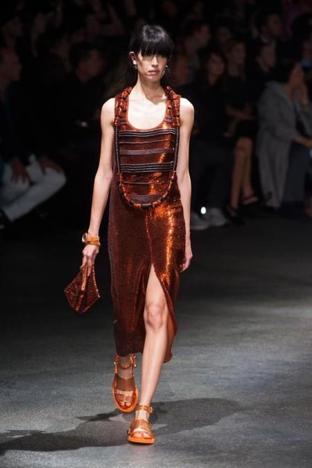 Vestido brillo Givenchy Primavera-Verano 2014