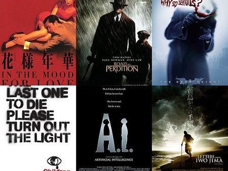 Las diez mejores películas de la década (2000-2009)