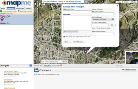 Mapme, mapas colaborativos