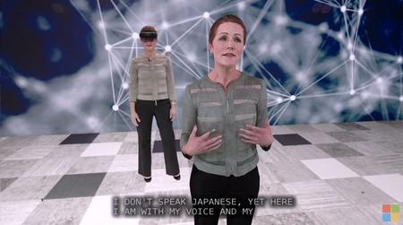 Microsoft muestra cómo son capaces de crear un holograma de ti mismo hablando perfectamente en otro idioma