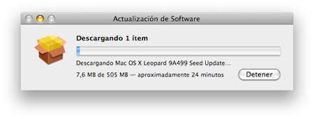 Sobre Mac OS X Leopard 9A500n y lo que nos espera