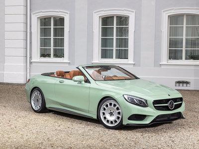 Carlsson convierte el Mercedes-Benz Clase S Cabrio en un helado de menta