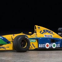 Se subastará el Benetton B-191-02 en el que Schumacher sumó sus primeros puntos en F1