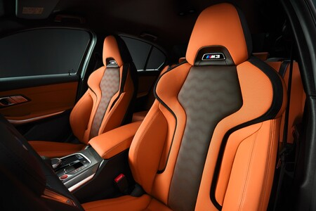 BMW M3 asientos
