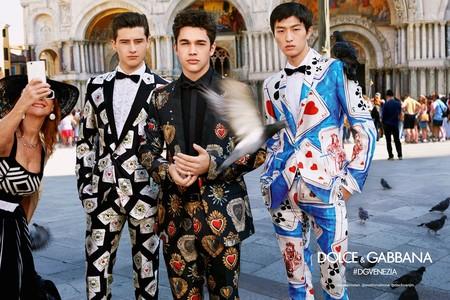 Campaign Dolce Gabbana Millennials Spring Summer 2018 Venezia04