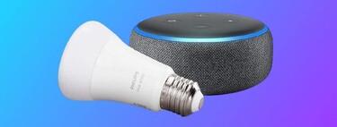 Echo Dot + Philips Hue a menos de 25 euros y otros seis chollos en domótica previos al Black Friday en Amazon, ¡precios mínimos!