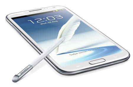 Samsung Galaxy Note II en México