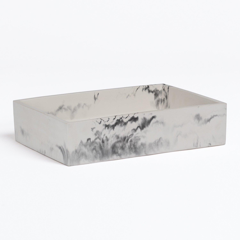 Lavabo en Cemento acabado Mármol Zira