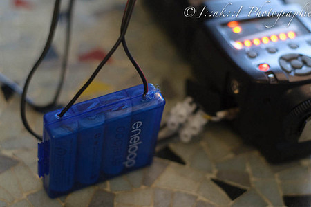 Cómo fabricarte un 'Battery Pack' para Flash en 5 minutos
