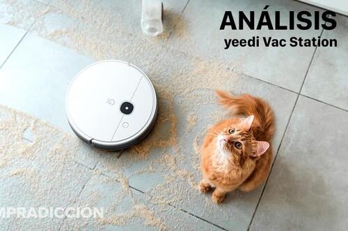 Análisis yeedi Vac Sation. Robot aspirador con estación de autovaciado: prestaciones de gama alta a precio de gama media