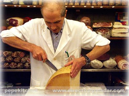 salumeria corte de queso