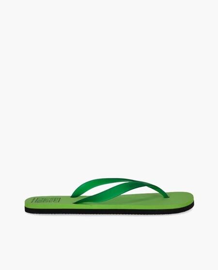 Chanclas De Mujer Ecoalf En Verde Con Materiales Reciclados
