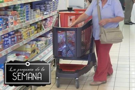 ¿Comparáis los precios de los supermercados antes de comprar? La pregunta de la semana