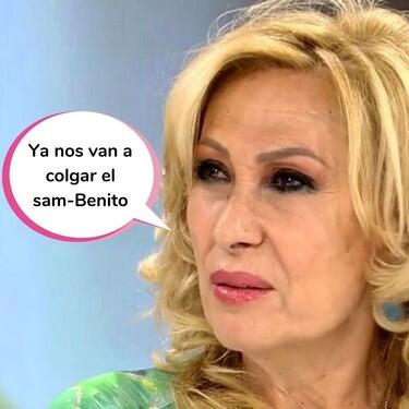 """La contundente respuesta de Rosa Benito a Rocío Carrasco por 'En el nombre de Rocío': """"Esto es un maltrato mediático hacia los Mohedano"""""""