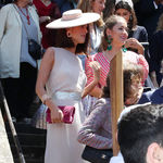 Así es el aburrido look que ha elegido Sofia Palazuelo para asistir a la boda de su amiga Valentina Suárez Zuloaga