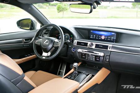 Lexus Gs300h F Sport interior