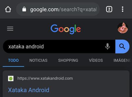 Chrome para Android prueba el tema oscuro en la búsqueda de Google: así puedes probarlo