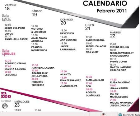 Novedades en la Pasarela Cibeles y ¡ya tenemos el calendario!