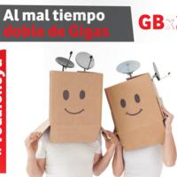 Vodafone dobla gratis los datos incluidos en todas sus tarifas prepago