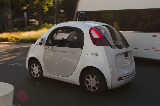 Google Self Driving Car At The Googleplex