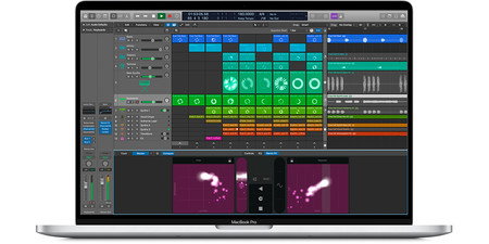 Logic Pro X Live Loops en MacBook Pro de 16 pulgadas