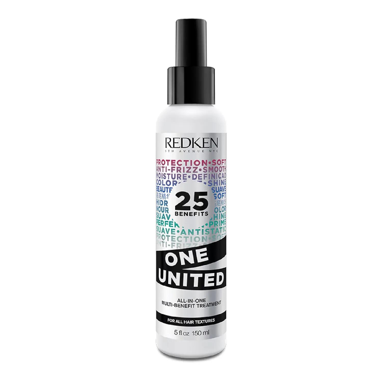 Spray multi beneficios anti frizz, desenredante y protector de calor One United de Redken