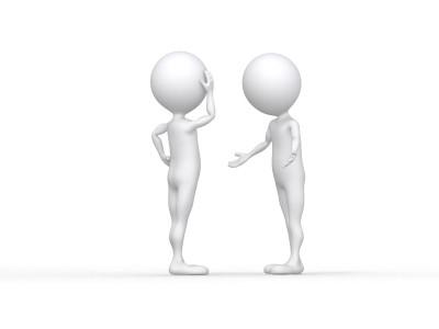 Two Men Talking Fdp