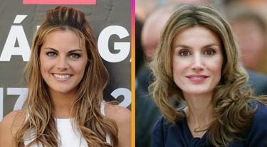 Amaia Salamana y la princesa Letizia ¿parecidos razonables?