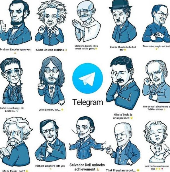 stickers telegram da