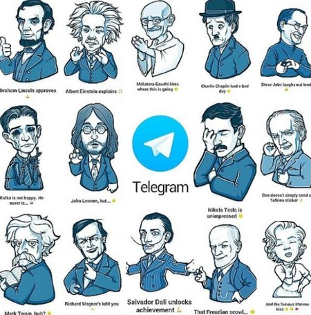No hay nada como los stickers de Putin y los gifs de ilustradores de Telegram. Ni siquiera el negro de Whatsapp