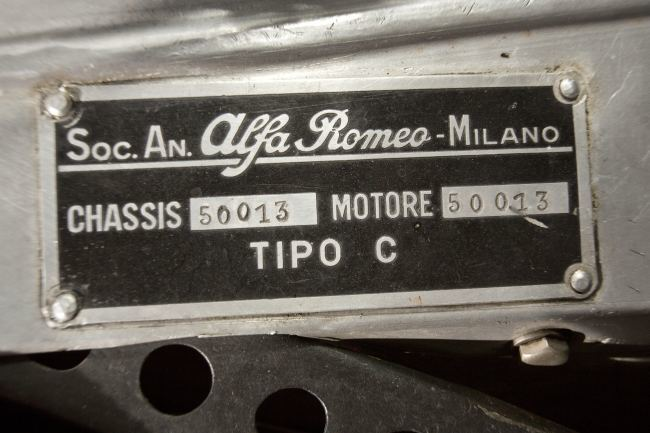 Foto de Alfa Romeo 8C-35 Monoposto de 1935 ex-Tazio Nuvolari (8/19)
