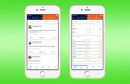 Facebook quiere que vivas los deportes en directo con Facebook Sports Stadium
