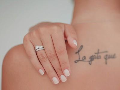 Nail Arts muy especiales para una novia atrevida (I)