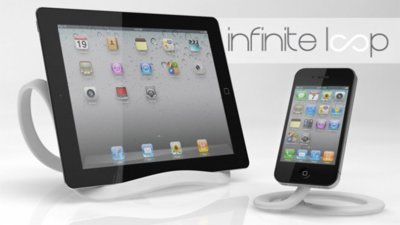 Infinite Loop y Mini Loop, soportes flexibles y moldeables para tu iPad o iPhone