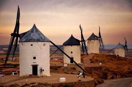 Así esperamos ver pronto (de nuevo) los emblemáticos molinos de Consuegra