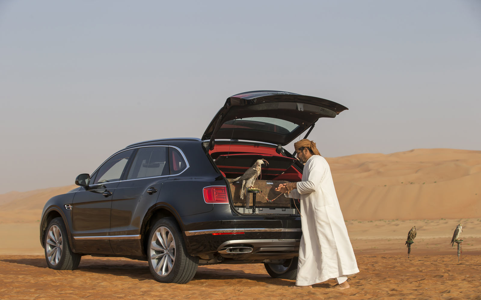 Foto de Bentley Bentayga Falconry (25/36)