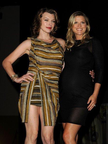 Los mejores looks de famosas en la Comic Con. Milla Jovovich y Ali Larter