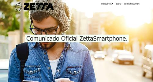 """Semanas después de saltar la polémica, la web de Zetta permanece desaparecida por """"mantenimiento"""""""