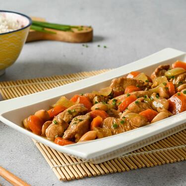 Pollo con almendras estilo chino: la receta más fácil y deliciosa (que querrás hacer una y otra vez)