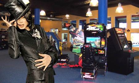La alucinante colección de máquinas recreativas de Michael Jackson