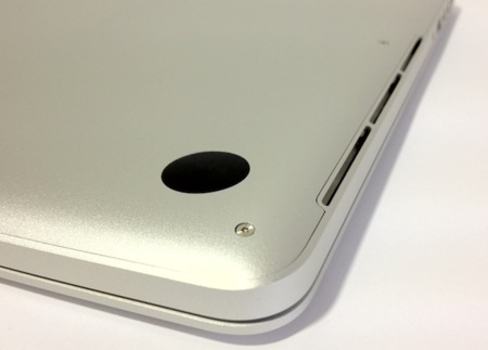 MacBook Pro Retina vs MacBook Air ventilación