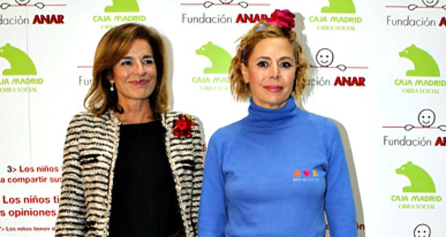Ana Botella y Ágatha Ruiz de la Prada