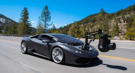 """Lamborghini """"Huracam"""", el auto cámara más rápido del mundo"""