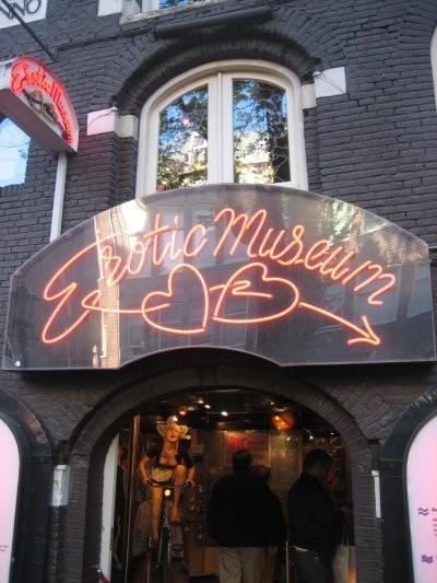 El Barrio Rojo de Ámsterdam