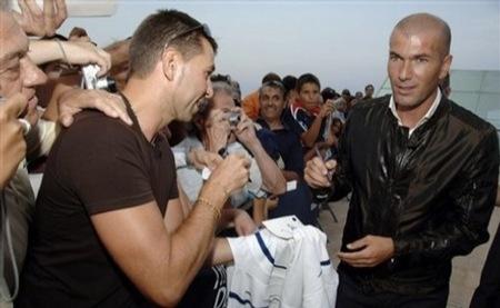 Zidane cazadora